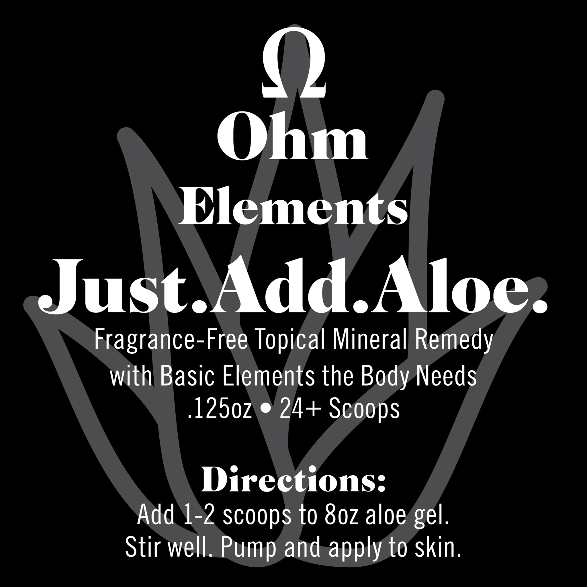 Just.Add.Aloe, Topical Mineral