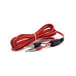 Micro Duck Beak Clip Wires, 3.5mm - Red
