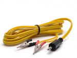 Micro Duck Beak Clip Wires, 3.5mm - Yellow