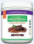 Complete Organic Plant Protein +, Fuel & Replenish chocolate flavor