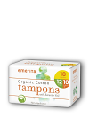 Organic Cotton Non-Applicator Tampons, Multipack