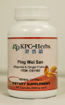 Ping Wei San, Capsules