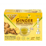 Instant Lemon Ginger Honey Crystals, 10 Bags