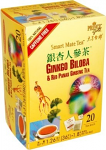 Prince Gold Smart Mate Tea - Ginkgo Biloba and Red Panax Ginseng, 36g