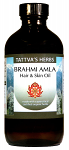 Brahmi Amla Hair Oil - Organic, 8oz