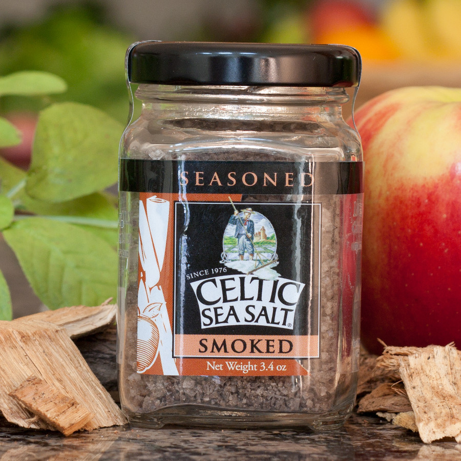 Applewood Smoked Celtic Sea Salt, Organic