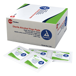 Alcohol Prep Pads, Medium, 200ct