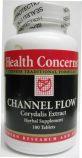 Channel Flow (Corydalis Extract Herbal Supplement), 180 tabs