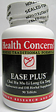 Ease Plus (Bupleurum & Dragon Bone Herbal Supplement), 90 tabs