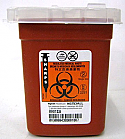 Sage Bio-Hazard Container, 1 pint - A