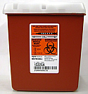 Sage Bio-Hazard Container, 2 quart box - D