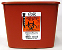 Sage Bio-Hazard Container, 2 quart tub - F