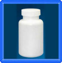 175cc Plastic Packer Bottle with Ribbed Lid