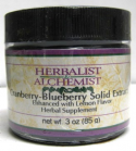 Cranberry-Blueberry Solid Extract, 3 oz.