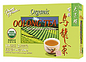 Oolong Tea - Organic, 100 Bags