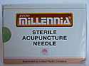.25x40mm - Millennia Bulk Pack Acupuncture Needle