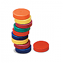 "Rainbow Magnets, 0.7"" diameter"