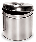 "Stainless Steel Jar (5.5"" x 5.5"")"