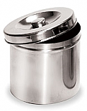 "Stainless Steel Jar (4.75"" x 4.75"")"