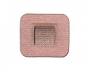 "ValuTrode Specialty DS2240 2.2"" x 2.5"" Multi Day Electrodes, Tan Cloth"