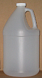 HDPE Natural Round 1 Gallon Jug