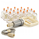 Deluxe 17 Plastic Cupping Set