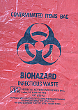 Waste Disposal Bags - Red