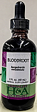 Bloodroot (Sanguinaria Canadensis) dried rhizome, 2 oz.