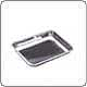 "Stainless Steel Open Tray (9.0"" x 6.75"" x 1.25"")"