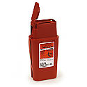 1 qt. Sage Biohazard Container - Transportable