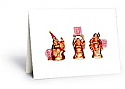 Holiday Buddha Card - 50 Count