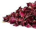 Roses, Red Rose Petals (Rosa gallica) Organic