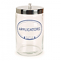 Applicator Jar, Glass